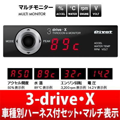 【Pivot】3-drive・X スロットルコントローラーって知っていますか?知らないと損してますよ。